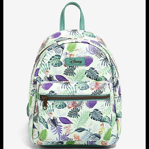 Loungefly Peter Pan Lost Boys Jungle Backpack
